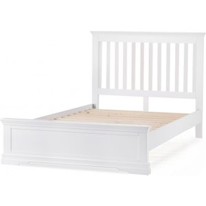 Great Furniture Trading Company Budapest White Double Bed