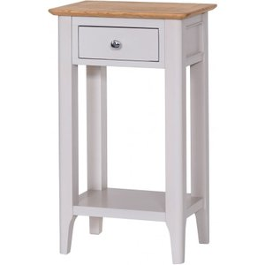 Great Furniture Trading Company Diego Oak And Grey Telephone Table