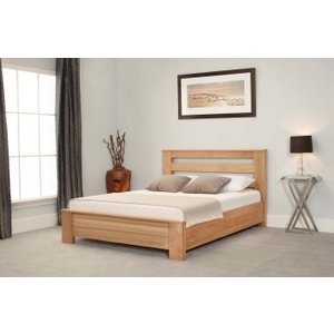 Great Furniture Trading Company Heartwood Chunky Oak Double Bed