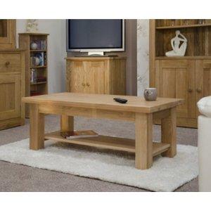 Great Furniture Trading Company Reno 90cm Oak Coffee Table