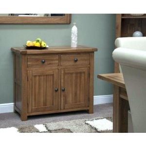 Great Furniture Trading Company Rustic 100cm Oak Sideboard