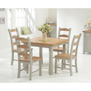 Prime Great Furniture Trading Company Milton 75Cm Oak And Grey Dailytribune Chair Design For Home Dailytribuneorg