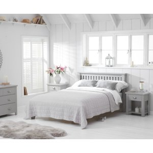 Great Furniture Trading Company Somerset Grey Single Bed