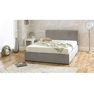 Great Furniture Trading Company Sterling Stone Fabric Ottoman Super King Size Bed