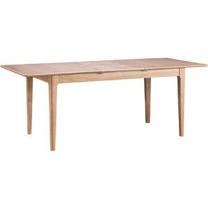 Great Furniture Trading Company Suri Oak 160cm Butterfly Extending Table