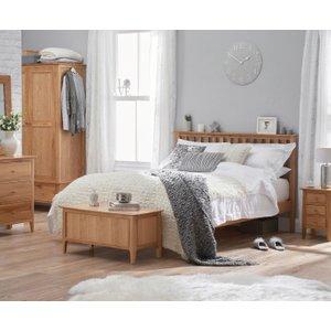 Great Furniture Trading Company Suri Oak King Size Bed