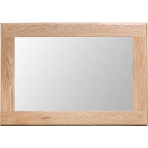Great Furniture Trading Company Suri Oak Wall Mirror