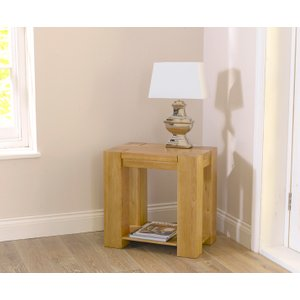 Great Furniture Trading Company Thames Oak Lamp Table