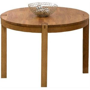Great Furniture Trading Company Verona 110cm Oak Round Dining Table