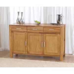 Great Furniture Trading Company Verona 140cm Oak Sideboard