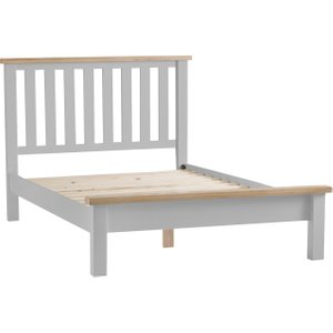 Great Furniture Trading Company William Oak And Grey King Size Bed Frame