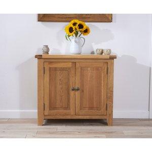 Great Furniture Trading Company Yateley 90cm Oak 2 Door Sideboard
