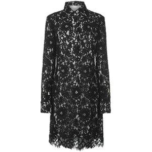 Calvin Klein Womenswear Calvin Klein Womenswear Lace Dress Size: 8 (XS), Perfect Black