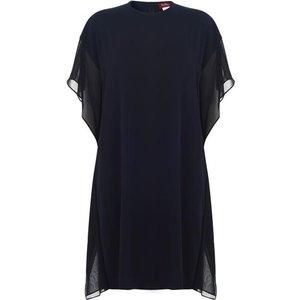 Max Mara Studio Gessy Shift Dress Size: 12 (m), 005 NAVY