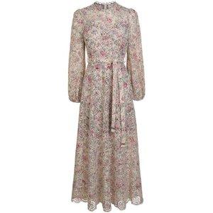 Zimmermann Honour Lace Dress Size: 2 (m), Cream Floral