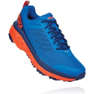 Hoka Challenger Atr 5 Running Shoes Imperial Blue/mandarin Red 698344, Imperial Blue/Mandarin Red