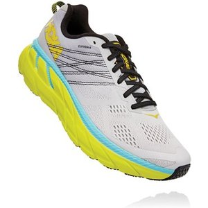 Hoka Clifton 6 Running Shoes Lunar Rock/nimbus Cloud 698097, Lunar Rock/Nimbus Cloud