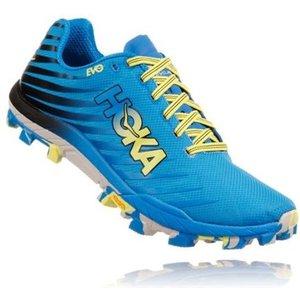 Hoka Evo Jawz Womens Trail Running Shoes Cyan/citrus 693846, Cyan/Citrus