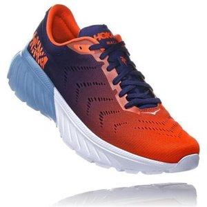 Hoka Mach 2 Running Shoes Patriot Blue/nasturtium 691313, Patriot Blue/Nasturtium