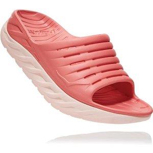 Hoka Ora Womens Recovery Slides Lantana/pink Salt 693767, Lantana/Pink Salt