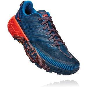Hoka Speedgoat 4 Running Shoes Majolica Blue/mandarin Red 692585, Majolica Blue/Mandarin Red