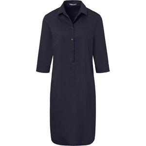 Dress 3/4-length Sleeves Fixed Turn-ups Day.like Blue Dark Blue 145436460, dark blue