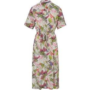 Dress Leaf And Floral Motifs Basler Multicoloured Natural/multicoloured 144603400, natural/multicoloured