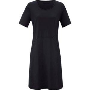 Jersey Dress Short Sleeves Green Cotton Black 137219420, black