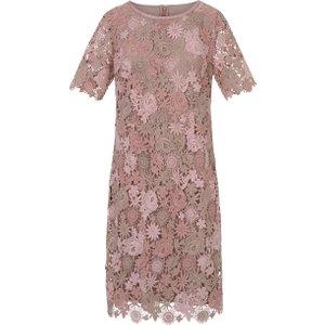Lace Dress 1/2-length Sleeves Uta Raasch Pale Pink  118182460