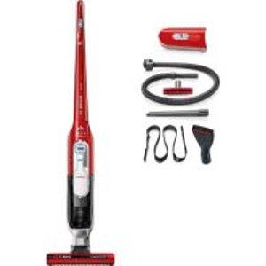 Bosch Bbh65petgb Athlet 25.5v Cordless Bagless Vacuum Cleaner Tornado Red