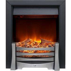 Burley 170r-bl Egleton Inset Electric Fire Black Heating & Cooling