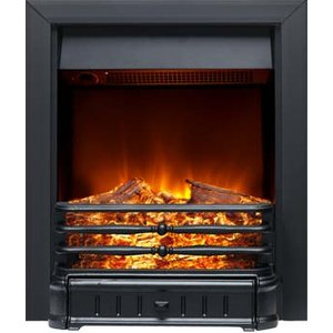 Burley 174r-bl Normanton Inset Electric Fire Black Heating & Cooling