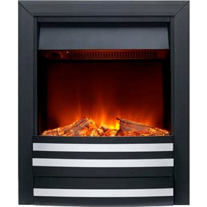 Burley 175r-bl Overton Inset Electric Fire Black Heating & Cooling
