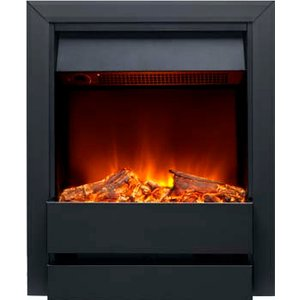 Burley 176r-bl Wardley Inset Electric Fire Black Heating & Cooling
