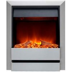 Burley 176r-ss Wardley Inset Electric Fire Stainless Steel