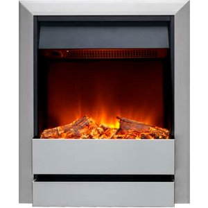 Burley 176r-ss Wardley Inset Electric Fire Stainless Steel Heating & Cooling