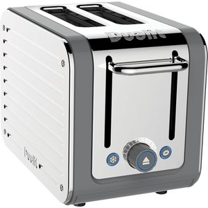 Dualit 26526 Architect Toaster 2 Slice Grey Stainless Steel Small Appliances