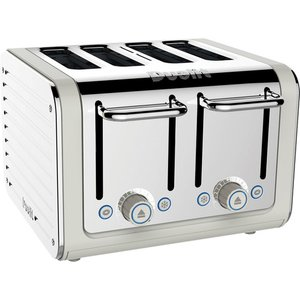 Dualit 46523 Architect Toaster 4 Slice Canvas Stainless Steel Small Appliances