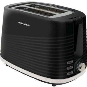 Morphy Richards Dune Black 2 Slice Toaster 220026 Small Appliances