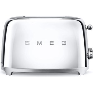 Smeg Tsf01ssuk 50's Retro 2 Slice Toaster Stainless Steel Small Appliances