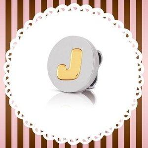 Nomination My Bon Bons J Cord Charm Gold 065080/010 Womens Jewellery, Gold