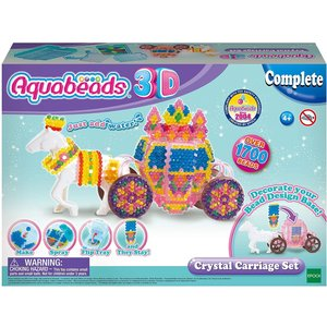 Aquabeads 3d Crystal Carriage Set
