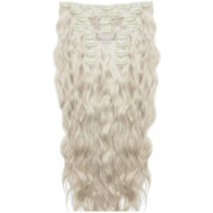 Beauty Works 22 Inch Beach Wave Double Hair Extension Set (various Shades) - Iced Blonde Cosmetics, Iced Blonde