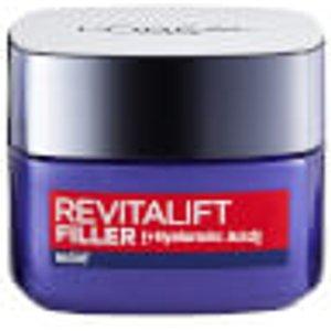 L'oréal Paris Revitalift Filler And Hyaluronic Acid Anti-ageing Night Cream 50ml Skincare