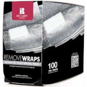 Red Carpet Manicure Led Nail Gel Polish Removal Wraps - 100 Wraps Cosmetics & Skincare