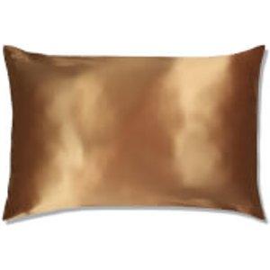 Slip Silk Pillowcase - Queen (various Colours) - Gold Home Accessories, Gold