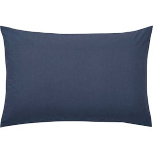Bedeck 1951 50/50 Percale Housewife Pillowcase, Ink Ducepdqhink, Ink