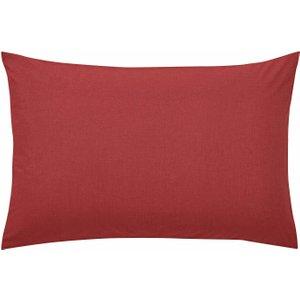 Bedeck 1951 50/50 Percale Housewife Pillowcase, Marsala Ducepdrhmar, Marsala