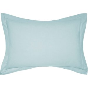 Bedeck 1951 50/50 Percale Oxford Pillowcase, Celadon Ducepdeocel, Celadon