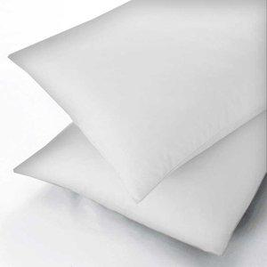Hotel Bedeck 1951 600 Thread Square Oxford Pillowcase, White Furniture Accessories, White